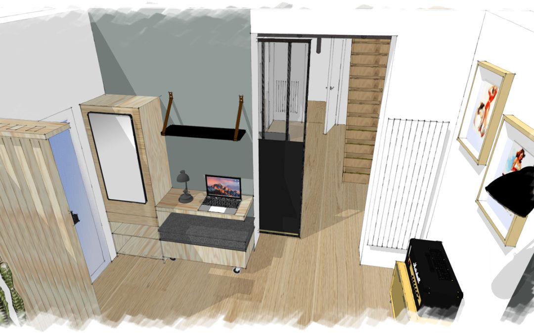 Rénovation, agencement et décoration d'une petite maison