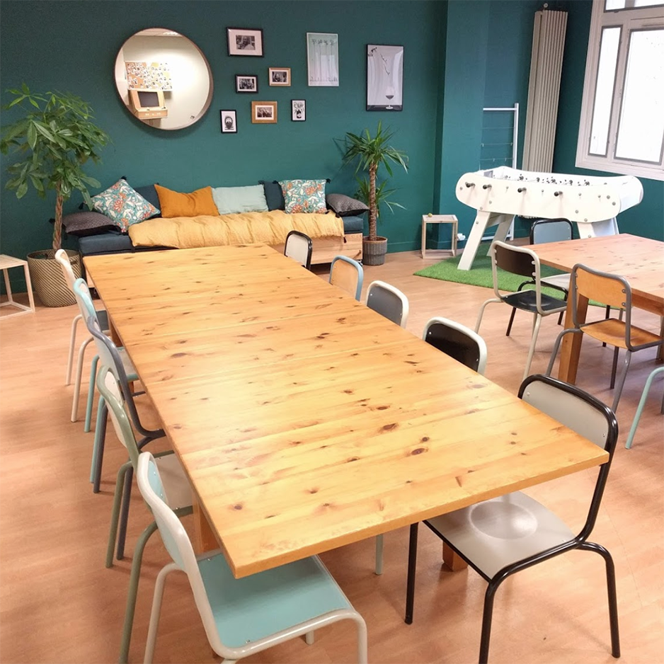 salle à manger coolworking BORDEAUX